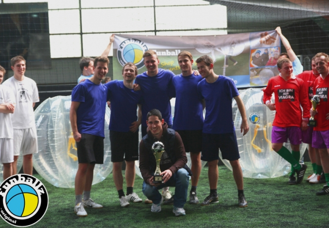 1. hessische Bubble Football Meisterschaft