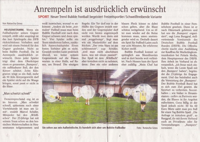 Bericht Wiesbadener Kurier