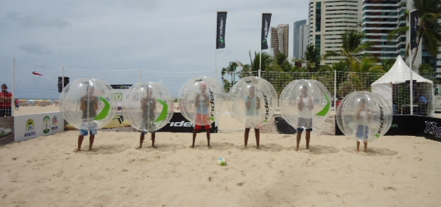 Bubble Football, der Trendsport!