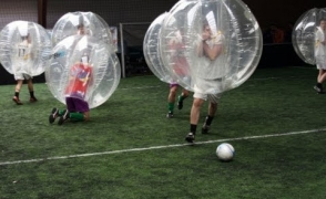 Bubble Football Meisterschaft