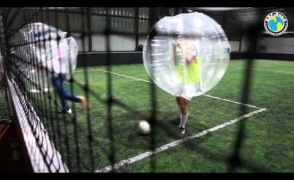 1. Deutsche Meisterschaft im Bubble Football